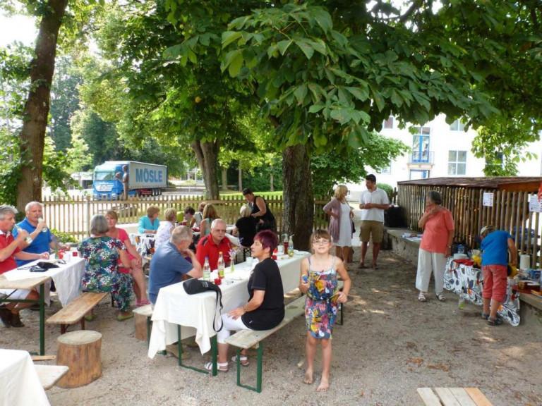 Sommerfest 2013 Garten