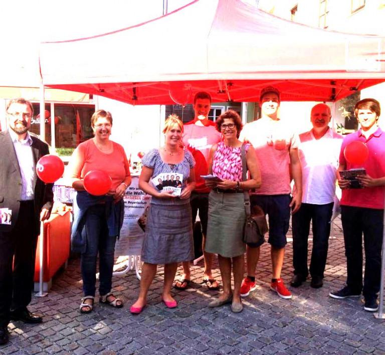 Infoatand zur Landtags/Bundestagswahl 2013 (hell)