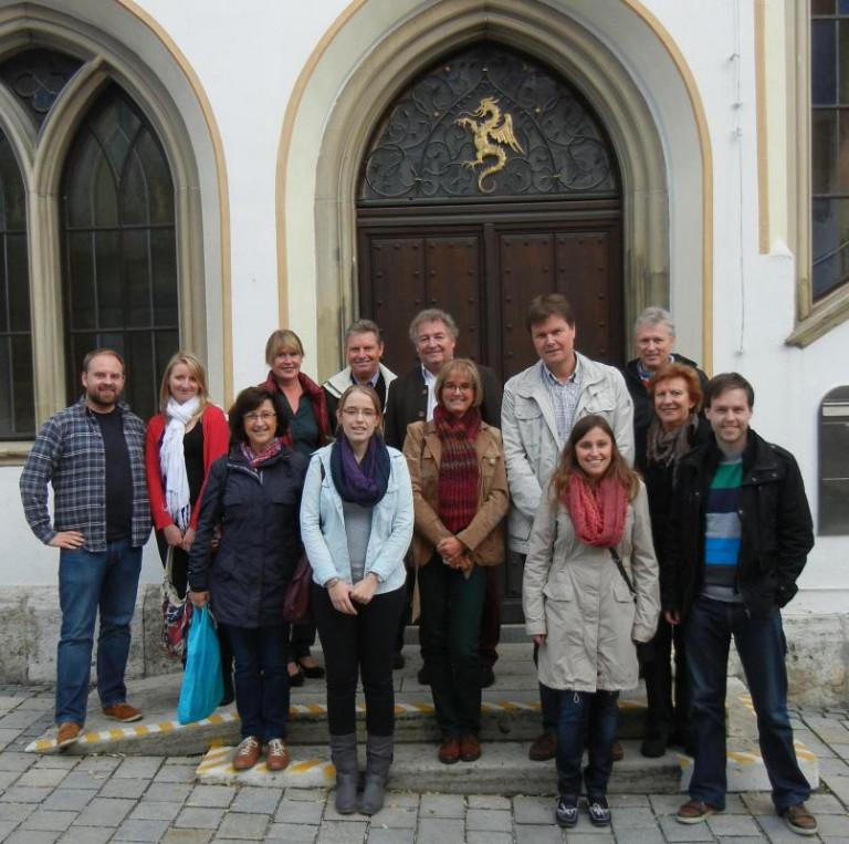 Besuch Mutterstadt Rathaus